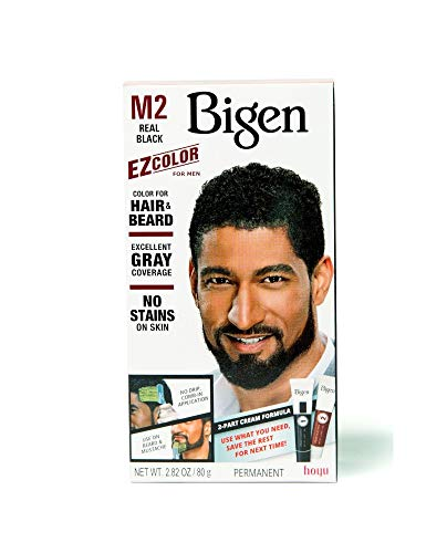 Bigen Ez Color For Men M2 Real Black Kit (3 Pack)