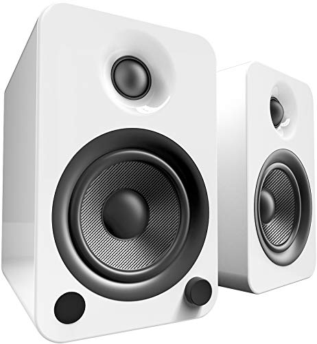 Kanto YU4 Powered Speakers with Bluetooth and...