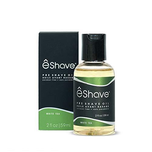 êShave Pre Shave Oil, White Tea, 2 Fl Oz