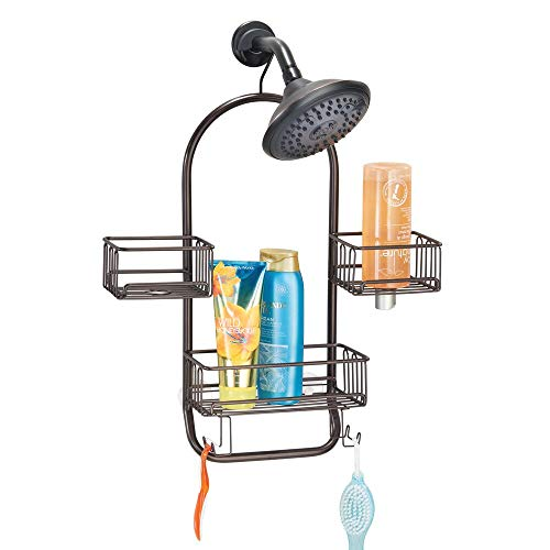 mDesign Modern Metal Wire Bathroom Tub & Shower...