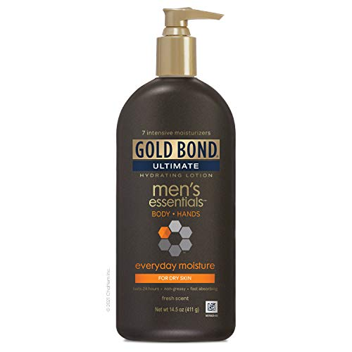 Gold Bond Men's Everyday Essentials Lotion, Fresh...