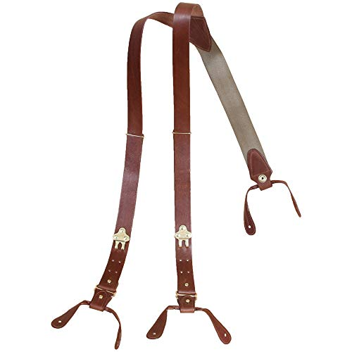 Col. Littleton Genuine Leather No.1 Suspenders...