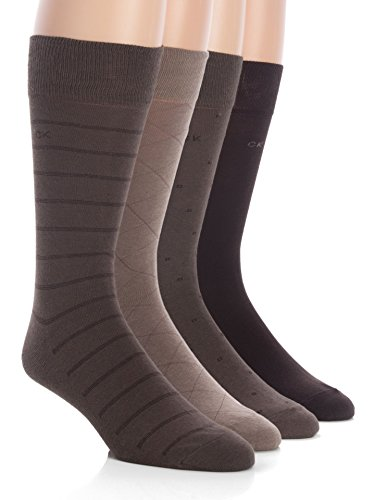 Calvin Klein Men's Classic Pattern Dress Socks...