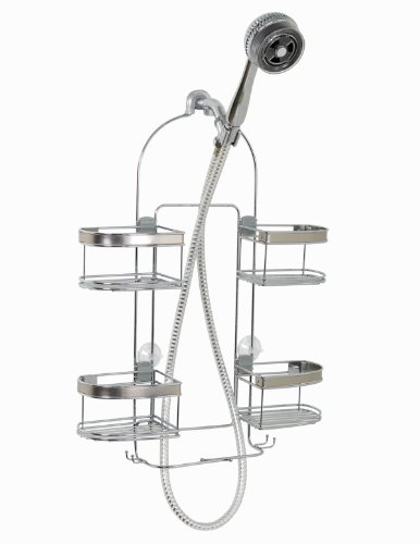 Zenna Home Expanding Shower Caddy, Rust-Resistant,...