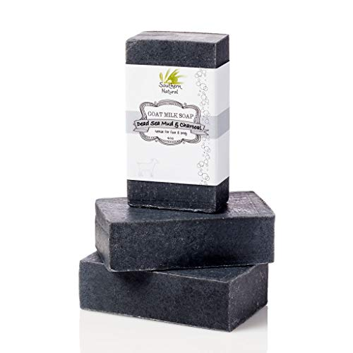 Activated Charcoal Soap Bars With Dead Sea Mud -...