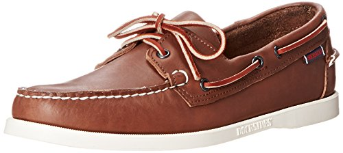 Sebago Men's Docksides Boat Shoe,Wine,7.5 W US