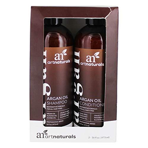 Artnaturals Organic Moroccan Argan Oil Shampoo and...
