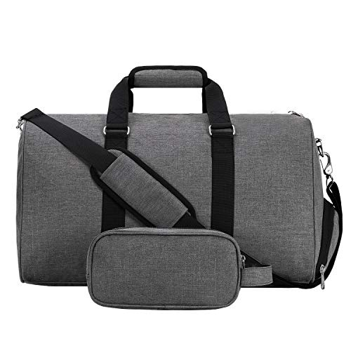 MIER Gym Duffel Bag for Men and Women with Shoe...