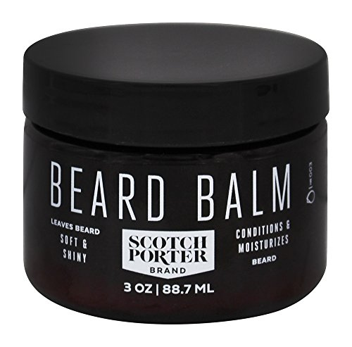 Scotch Porter - All Natural Men's Beard Balm - 3...