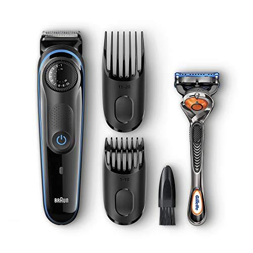 Braun BT3040 Beard Trimmer for Men, Cordless Hair...