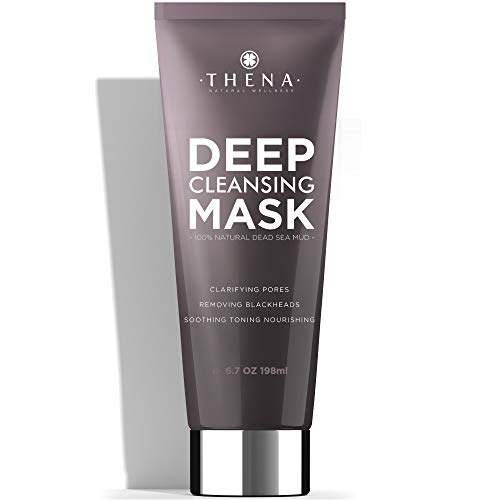 Organic Face Mask With Pure Healing Dead Sea Mud...