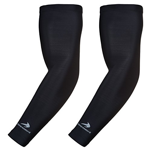CompressionZ Compression Arm Sleeves for Men &...
