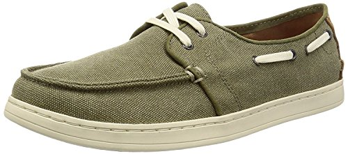 TOMS Men's Culver Lace-Up Olive Washed Canvas 13 D...