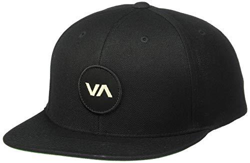 RVCA mens Rvca Men's Va Logo Patch Snapback Hat...