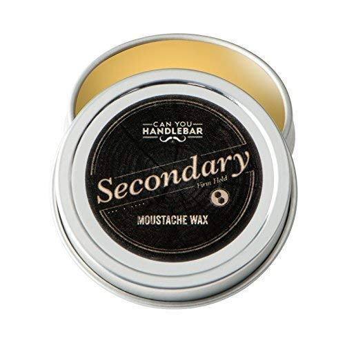 Secondary Strong Hold Moustache Wax for Men |...
