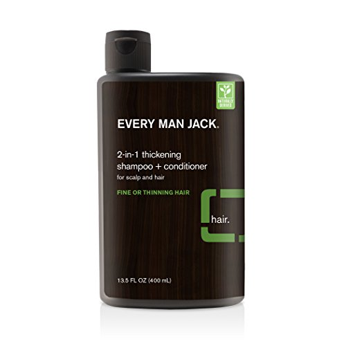 Every Man Jack 2 In 1 Shampoo Conditioner Tea...