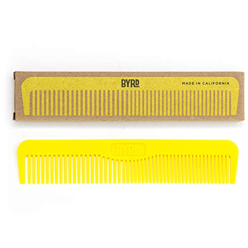 BYRD Pocket Comb - Durable, Flexible, Tangle Free,...