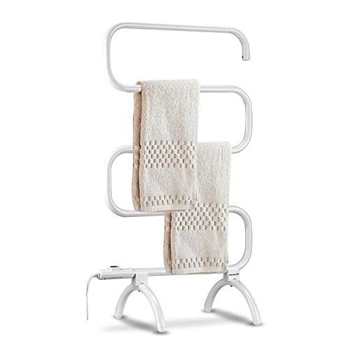 Homeleader Towel Warmer and Drying Rack, Heated...