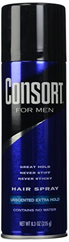 Consort For Men Hair Spray Unscented Extra Hold...