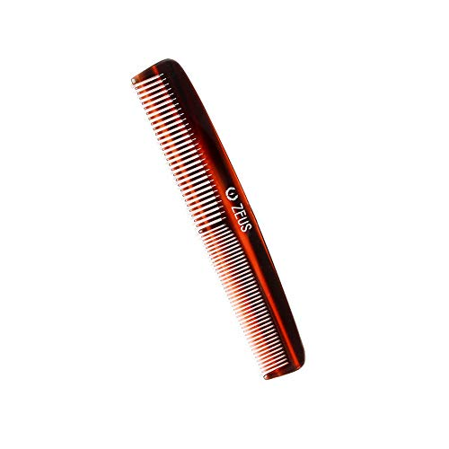ZEUS Handmade Saw Cut Beard Comb for Men, V11