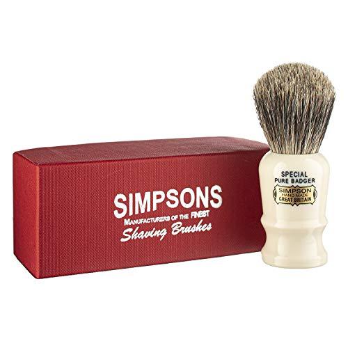 Simpsons Special Pure Badger Hair Shaving Brush...
