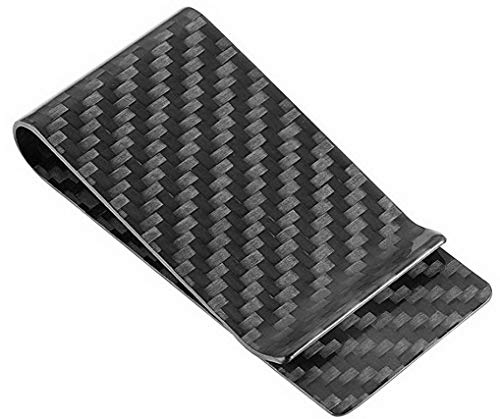 Travelambo Carbon Fiber Money Clip Front Pocket...