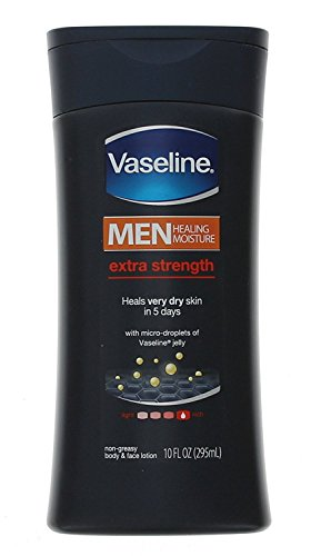 Vaseline Mens Extra Strength Lotion 10 Ounce...