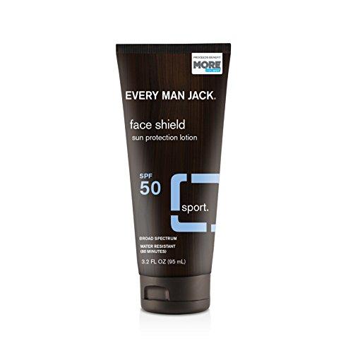 Every Man Jack SPF 50 Face Shield, Fragrance Free,...