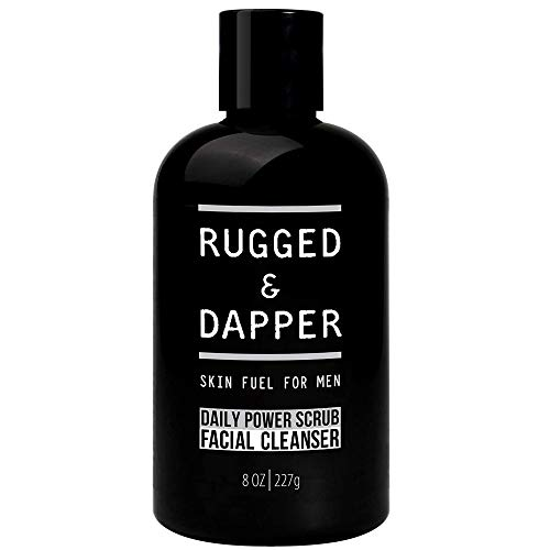 RUGGED & DAPPER Daily Power Scrub Face Wash +...
