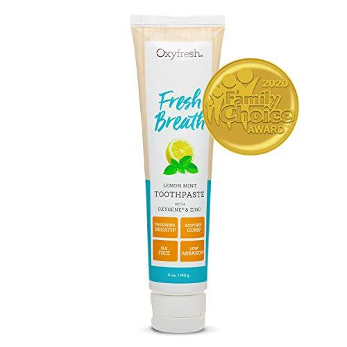Premium Oxyfresh Maximum Fresh Breath Lemon Mint...