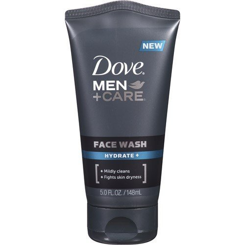 Dove Men + Care Face Wash, Hydrate, 5 Oz (Pack of...