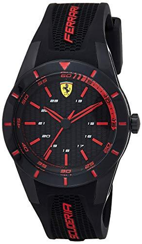 Ferrari Men's RedRev Stainless Steel Quartz Watch...