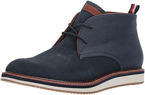 Tommy Hilfiger Men's JYLER Shoe, navy, 8.5 Medium...