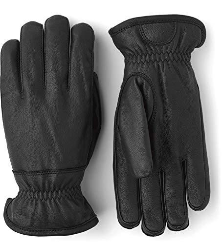 Hestra Deerskin Glove - Black | 8