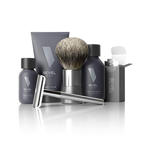 Shaving Kit for Men by Bevel - Starter Shave Kit,...