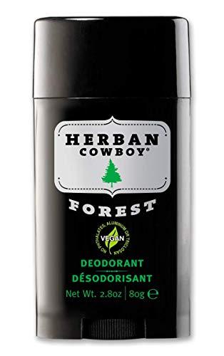 Herban Cowboy Men's Deodorant, Forest, 2.8 Ounce
