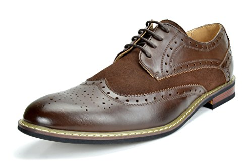 Bruno Marc Men's Dress Shoes Wingtip Oxford...