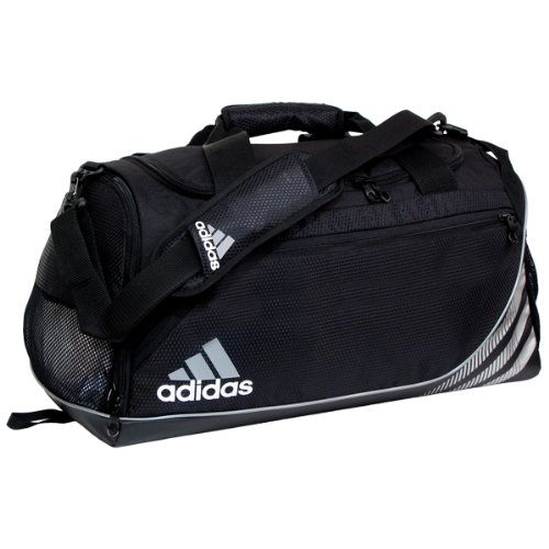 adidas Unisex Team Speed Small Duffel, Black, ONE...