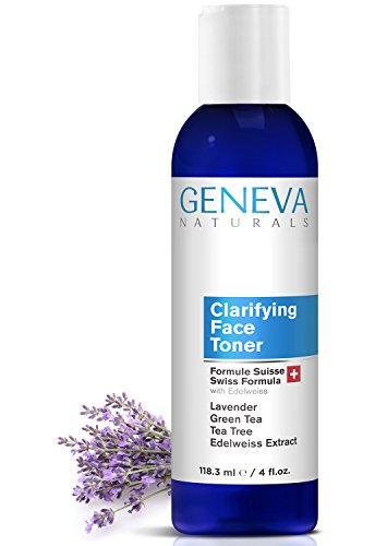 Clarifying Face Toner - Natural Swiss Anti-Aging...