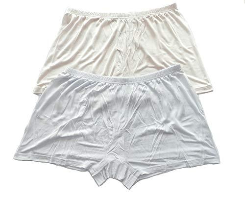 Qianya Men's Silk Underwear Boxer Silk Briefs 100%...