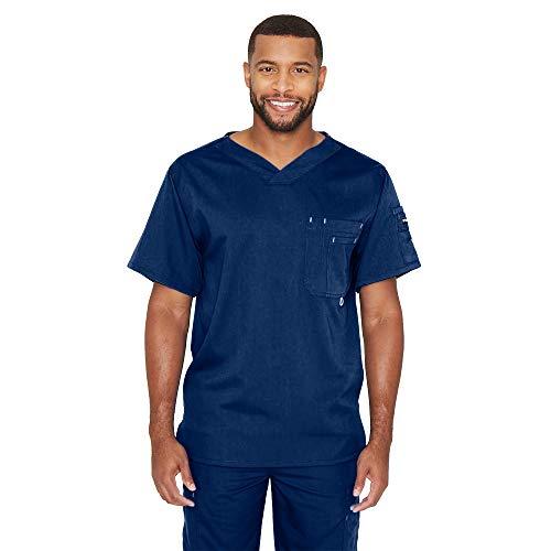 Grey's Anatomy Men's Modern Fit V-Neck Scrub Top,...