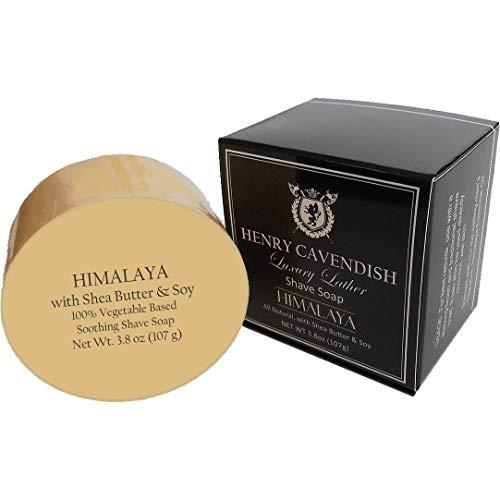 Henry Cavendish Himalaya Shaving Soap with Shea...