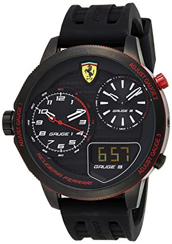 Ferrari Men's 0830318 XX KERS Analog Display...