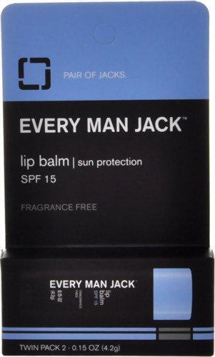 Everyman Jack Lip Balm, 0.15 Ounce