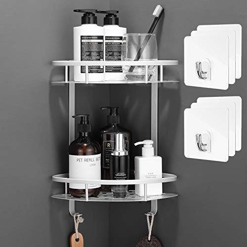 Flowmist 2 Tiers Corner Shower Caddy, Shower...