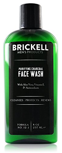 Brickell Men's Purifying Charcoal Face Wash for...