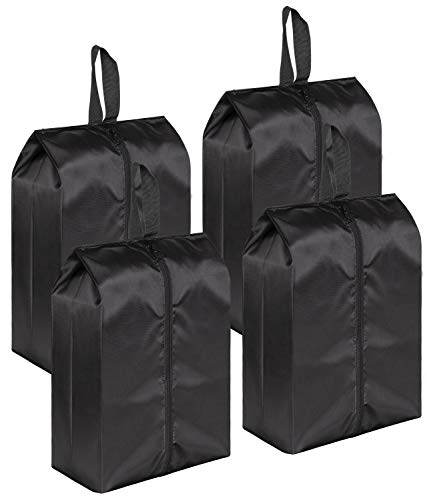 MISSLO Portable Nylon Travel Shoe Bags with Zipper...