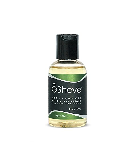 êShave Pre Shave Oil, White Tea, 2 Fl Oz
