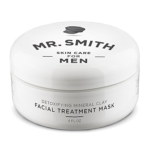 Mr Smith Co. Clay Face Mask for Men 4oz. Ageless...