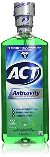 Act Anticavity Fluoride Mouthwash Mint 18 fl oz...